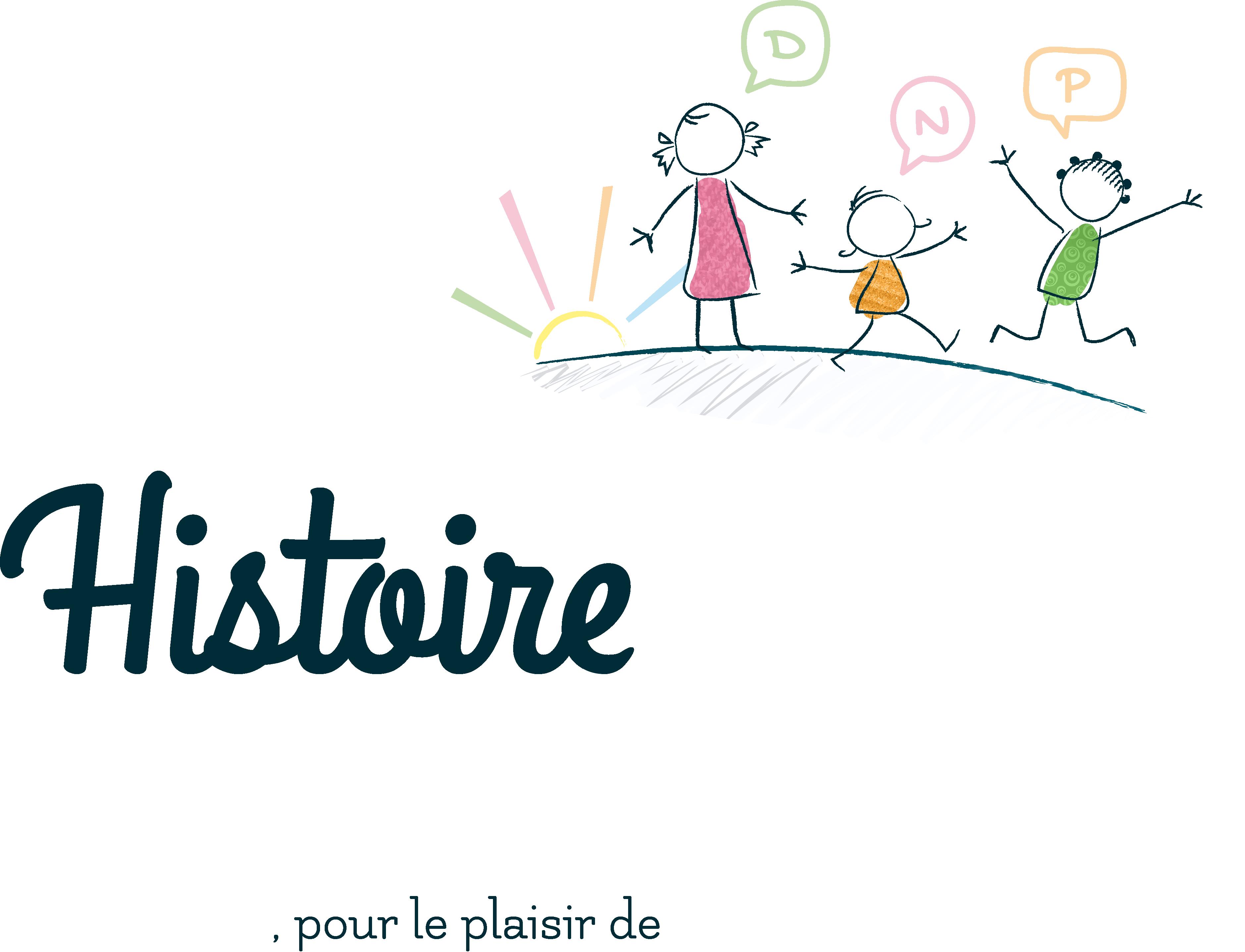 logo histoire de mots